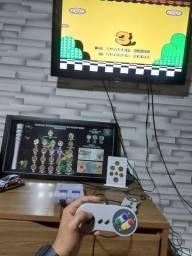 Tv 32 + mini super Nintendo