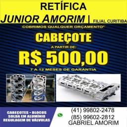 Cabeçote Celta / Corsa / Uno / Palio / Onix / Sandero / Clio / Virtus
