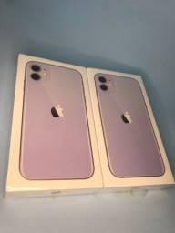 Título do anúncio: IPhone 11 64 gb novo- lilás