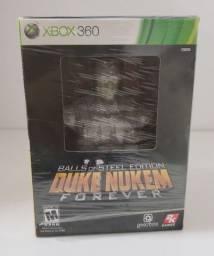 Jogo X-box 360 Edição de Colecionador Duke Nukem Forever : Balls of Steel Edition