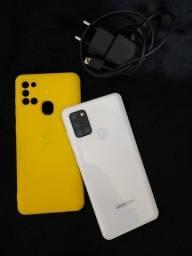 Vendo dos celular Samsung galax a 21s semi  novos