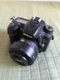 Nikon D7100 + lente 35mm 1.8