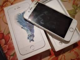 Vendo iPhone 6s 32gb 250,Trocar display