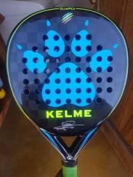 raquete  padel Kelme Olímpica 7 jogos de uso.