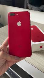 Título do anúncio: iPhone 7 Plus vermelho