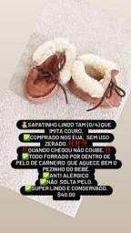 Sapatinhos, itens e roupinhas de bebê RN