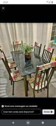 Conjuntos de Mesa com 6 cadeiras