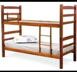Título do anúncio: Vendo camas beliches, feitas em eucalito maciço e tratado, de primeira qualidade