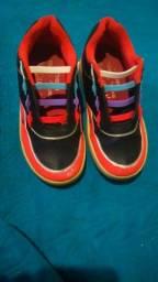 Sapato patins n34 semi. Novo