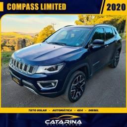 Jeep Compass Limited 2020 com teto