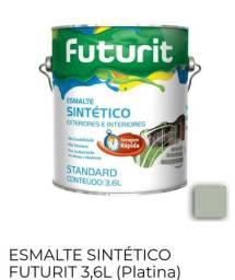 Vendo tinta esmalte sintético platina