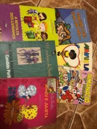 Livros infantis, evangélicos e escolares