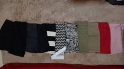 Lote de 5 saias (usadas) por 65,00