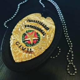 Distintivo Investigador Civil