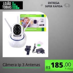 Título do anúncio: Câmera Ip 3 Antenas Wifi Wireless Hd Visão Noturna