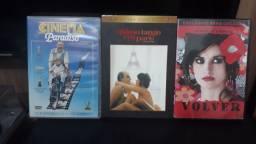 DVD's Cinema Paradiso, Último Tango em Paris e Volver