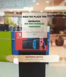 Título do anúncio: nintendo switch novo