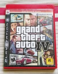 Dvd Jogo -Playstation 3 - Grand Theft Auto IV