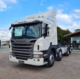 Título do anúncio: Caminhão Scania P310 8x2 Bitruck 2014
