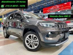 Título do anúncio: Jeep Nova Compass Longitude T270 1.3 Flex A Pronta entrega!!! Santo Andre São Paulo