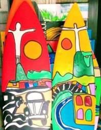 Arte Pranchas surf   decoração  Ambientes Finos