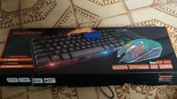 Teclado + mouse gamer NOVO