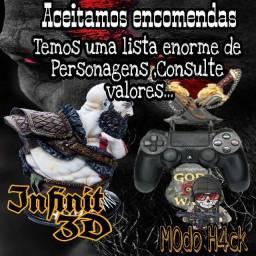 Suporte para controle de PS3 e PS4 (PLA)