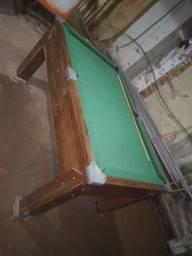 Mesa de sinuca com ficheiro