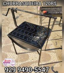 Título do anúncio:   churrasqueira tambo brinde 2 saco Carvão  entrega gratis ####