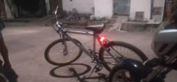 Título do anúncio: Bicicleta toda Boa quadro di alominho 400reais