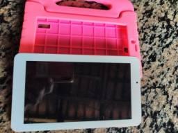 Título do anúncio: Tablet Multilaser m7 plus kid pad com capinha 230.00 pra vim buscar whats *