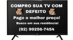 ACEITO SUA TV COM DEFEITO