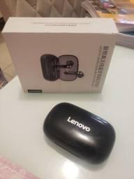 Caixinha Carregadora Fone Lenovo QT81 Nova