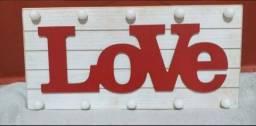 Título do anúncio: Luminária decorativa Love