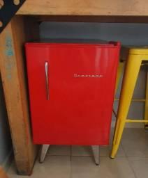 Frigobar Brastemp Retro 76 litros Vermelho 110V