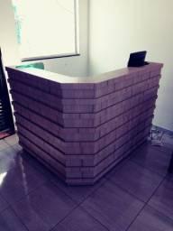 Balcão caixa para loja