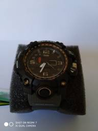 Título do anúncio: Relógio Smael G Shock cor (Cinza) Militar Tático a prova da água C/ Caixa