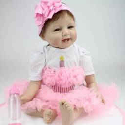 Bebê Reborn Menina 52cm - Bailarina