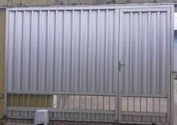Título do anúncio: Portão de alumínio 3x2,20mts