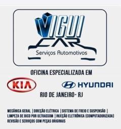 Oficina especializada em Hyundai e kia no RJ