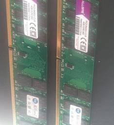 Título do anúncio: Memória RAM DDR2 Kingston.
