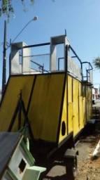 Barbada Food Truck MiniTrio com 9 Metros