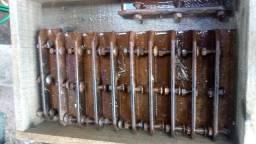 Jogo 12 facas ensiladeira jf c120