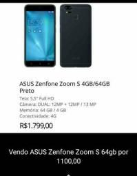 Zefone Zoom S 4G/64GB Preto