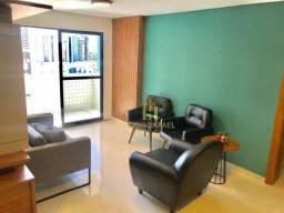 Apartamento 3 quartos (2 suítes) + dce, todo projetado em Tambaú