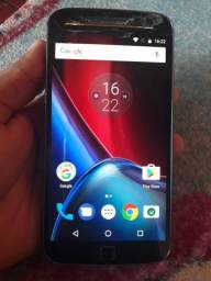 Moto g4plus 32gb leitor de biometrica