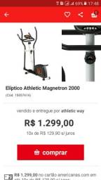 Elíptico Athletic Magntron