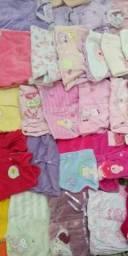 Lote de roupa bebê