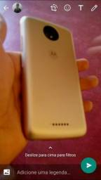 Celular novo Moto c plus