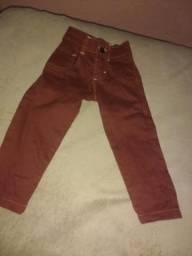 Calça jeans e banheira